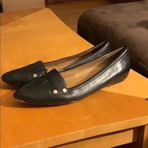 Calvin Klein Beatrice leather shoe flats size 7.5M